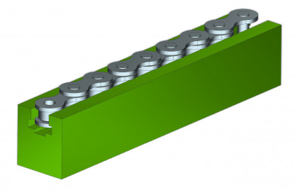 K Type Chain Guide Profiles, K type Chain Guides