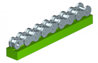 T Type Chain Guide Profiles, T Type Chain Guides