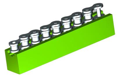 U Type Chain Guide Profiles, Chain Guides